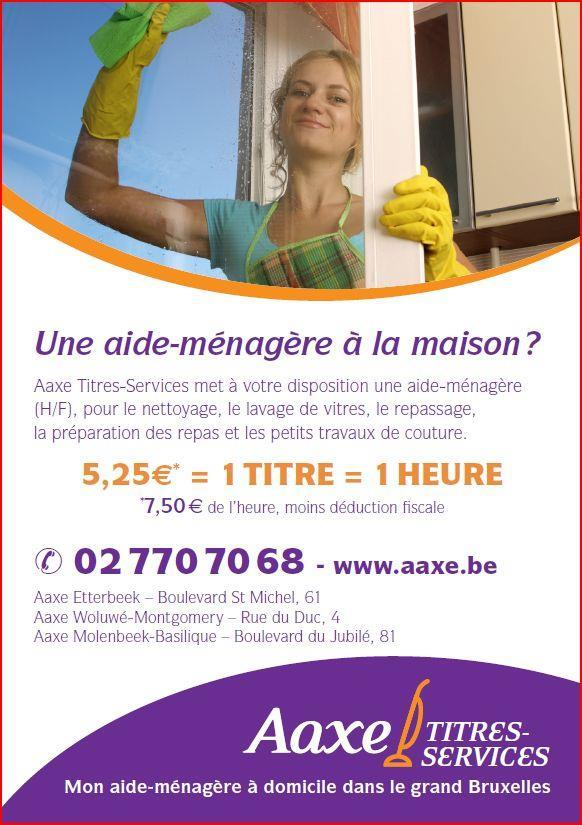 Aaxe - Titres-Services